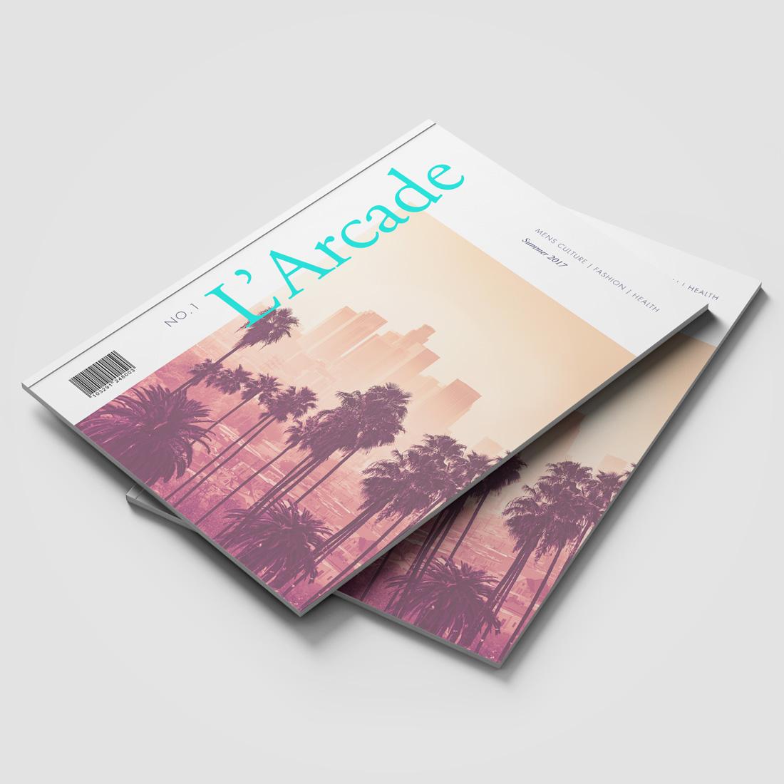 L'Arcade Magazine Elbowroom Graphics