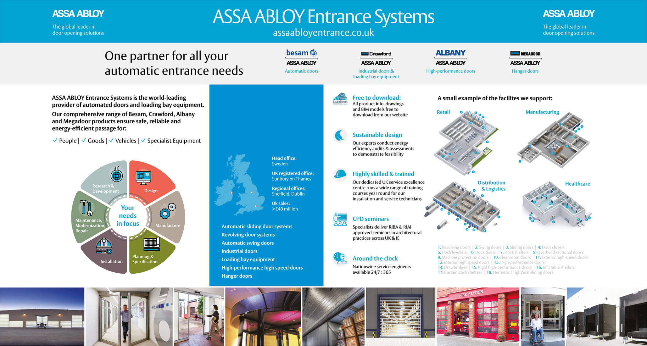 Assa Abloy Show Stand Elbowroom Graphics