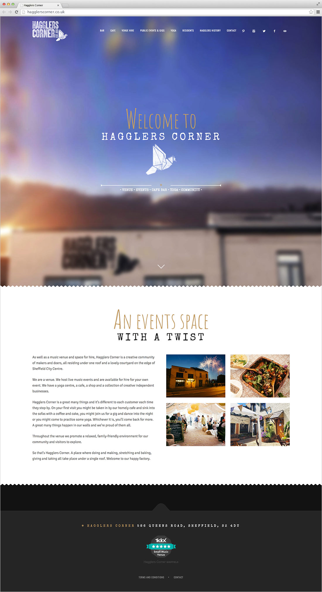 Hagglers Corner Site Design Elbowroom Graphics
