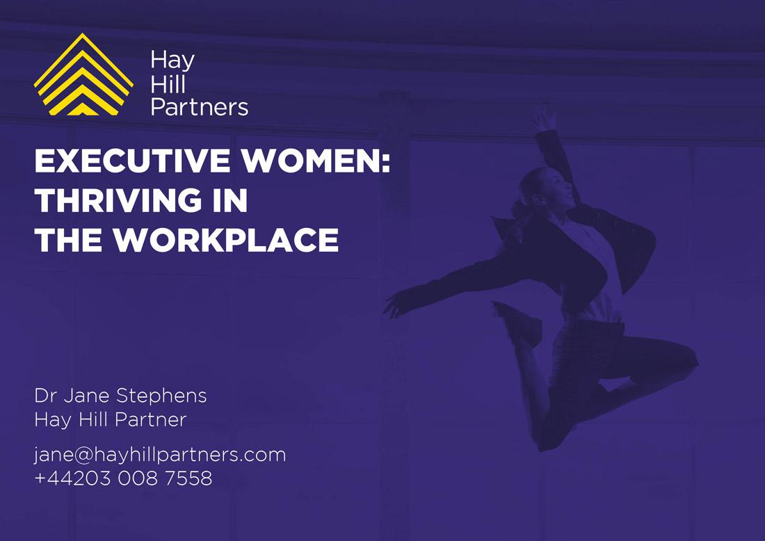Executive Women Presentation Elbowroom Graphics