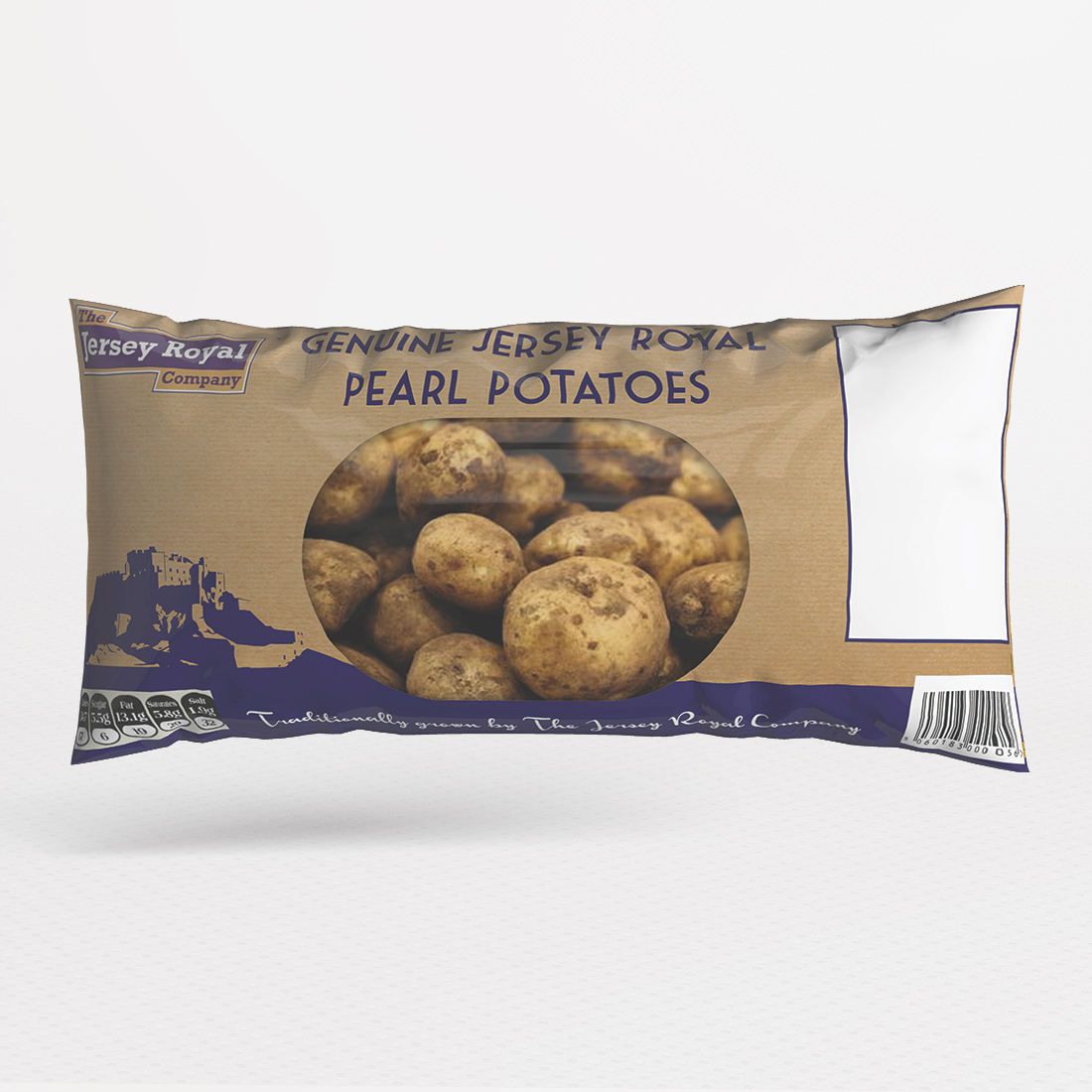 Jersey Royal Potatoes Packaging Elbowroom Graphics