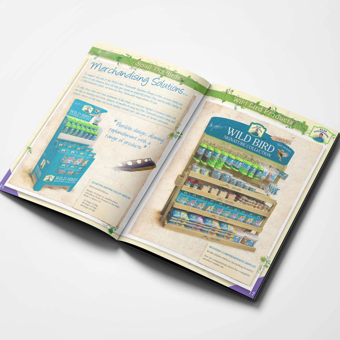 Alan Titchmarsh Brochure Elbowroom Graphics