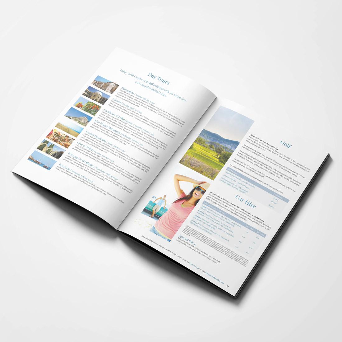Direct Traveller 2018 Brochure Elbowroom Graphics
